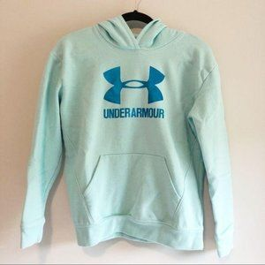 Under Armour Youth Light Blue Coldgear Hoodie